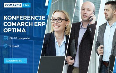 Konferencja Comarch ERP Optima – Wybierz przyszłość!