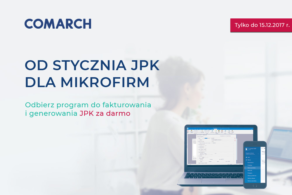 Promocja JPK dla mikrofirm